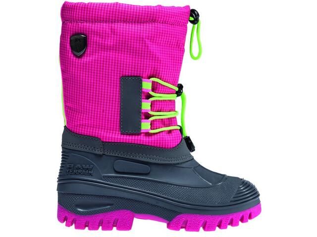 CMP Campagnolo Ahto WP Boots de neige Enfant, pink fluo